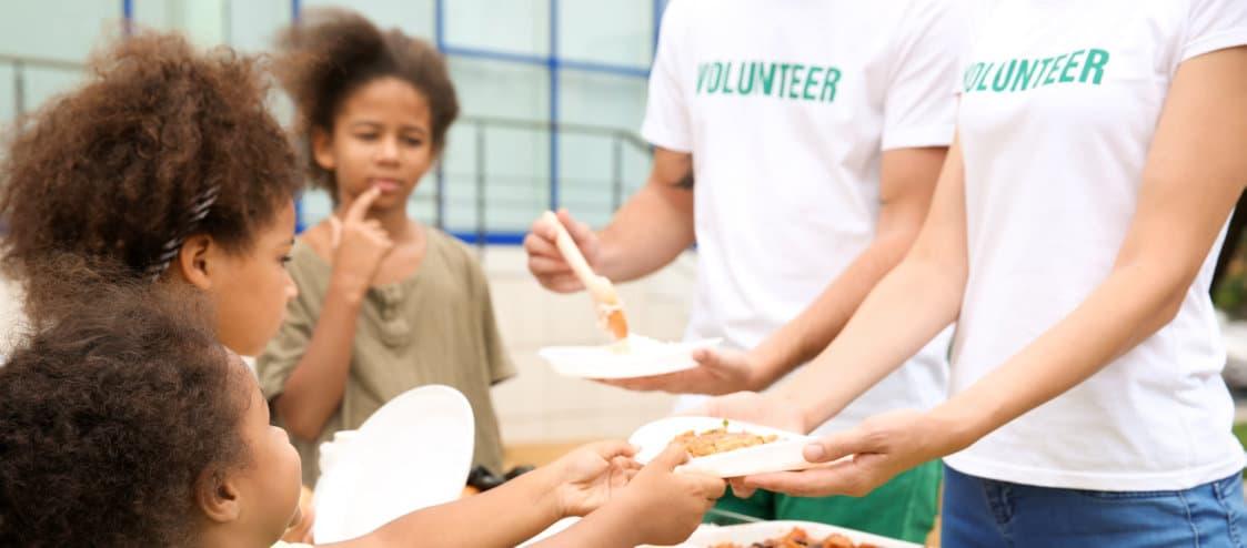 volunteers